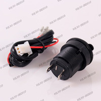 Wholesale LLFA1020 Hot New Style V Waterproof Motorbike Motorcycle Cigarette Lighter Power Socket Plug Outlet
