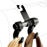 auto clothes hanger - 1pcs Car Hanger Auto bags organizer coat hook accessories holder clothes hanging hold