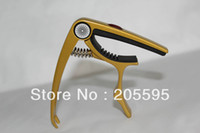Wholesale Gold Color Multiple Used Spring Capos