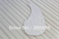 Wholesale Quality White Pearl Acoustic guitar pickguard plastic printed