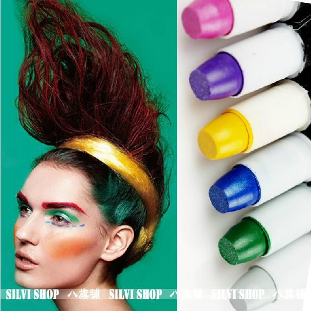 6colors options ombre temporary hair dye hair color bug rub dye hair pen hair colour dye - Hair Color Pen