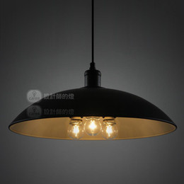 Denmark Diameter 43cm Painted Iron Dining Room Pendant Lamp Free Shiping Industrial Style Modern Balcony Pendant Light Bedroom Pendant Lamp