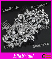 Wholesale New Arrival Crystal Stunning Wedding Bridal Crystal Beaded Hair Accessory Headpiece Headwear with Comb