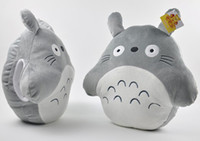Wholesale 16 quot Totoro Plush Toys Cushion Stuffed Plush Pillow Cartoon Stuffed Cushion Pillow