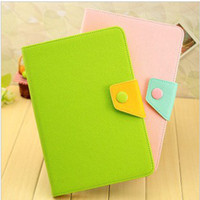 Cheap Leather case cover for ipad mini Korea style smart cover case for ipad mini Best cheap price 10pcs