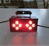 8pcs*3w Single Color LED 5 DMX521 Channels Red,Green and Blue Light color LED strobe light Stage Effect Light,free shipping