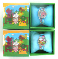 Wholesale Cute Barney watch Wristwatches boxes New