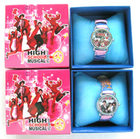 Wholesale New Popular High School Musical watch boxes Wristwatches