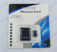 Wholesale 64GB Class Micro SD TF Memory Card Flash Micro SD SDHC Cards With Adapter Retail Package comcom