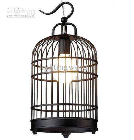 Hot Selling Modern Fashion Black White Iron Birdcage
