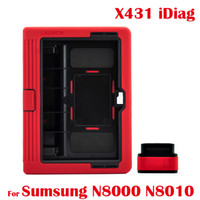 Wholesale Auto Diagnostic Scanner Tool Diag Launch X431 Idiag Car Scan OBD2 Equipment For Sumsung N8000 N8010 All Android System Original DHL EMS Free