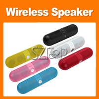 Wholesale Bluetooth Pill Wireless Portable Speaker Lightweight Audio Big Sound Hot Sale
