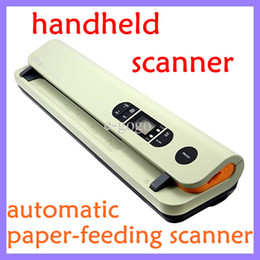 Wholesale Handheld Automatic paper feeding scanner dpi MAX dpi JPEG PDF for A4 A5 R R R Color Mono Office fast auto scanner