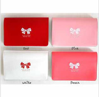 bank butterfly - promotion fashion butterfly tie bank team holder bag case membership bag multi function card bag