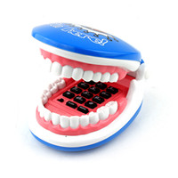 CordPhone red  Guaranteed New Sale 1Pcs Blue Flexible Cable Smiling Mouth Teeth Shaped Foldable Telephone Corded Phone Free Shipping