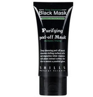 Face acne skin peel - Hot Selling ml SHILLS Deep Cleansing purifying peel off Black mud Facail face mask Remove blackhead facial mask Smooth Skin Shills Masks