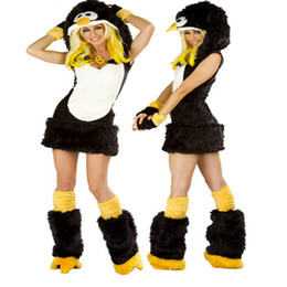 Wholesale Adults wear costume cartoon animal clothes penguin clothes clothing role playing game and Halloween Costume