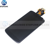 nexus 4 - High quality Replacement LCD Assembly Touch Screen Digitizer Lcd Display For LG Nexus E960 Google Nexus lcd