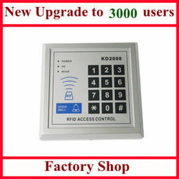 Wholesale New Upgrade Users Standalone Single Door KHz RFID Access Control