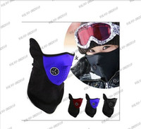 Wholesale LLFA1051 Neoprene Neck Warm Half Face Mask Winter Veil Guard Sport Bike Bicycle Motorcycle Ski Snowboard