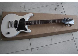 Wholesale New arrival white Tv Jr Studio by EMS get it in day electric guitar