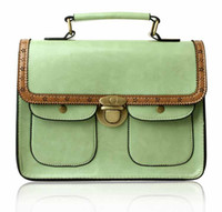 Wholesale Retro women messenge bag small bag female bag new Korean fashion shoulder diagonal packet envelope tuto