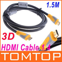 Wholesale 1 M FT Full P D HDMI Cable for XBOX PS3 HDTV HDMI Male to Male V382