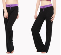 Wholesale Comfy Foldover Soft Yoga Sweat Track Lounge Gym Sport Pant