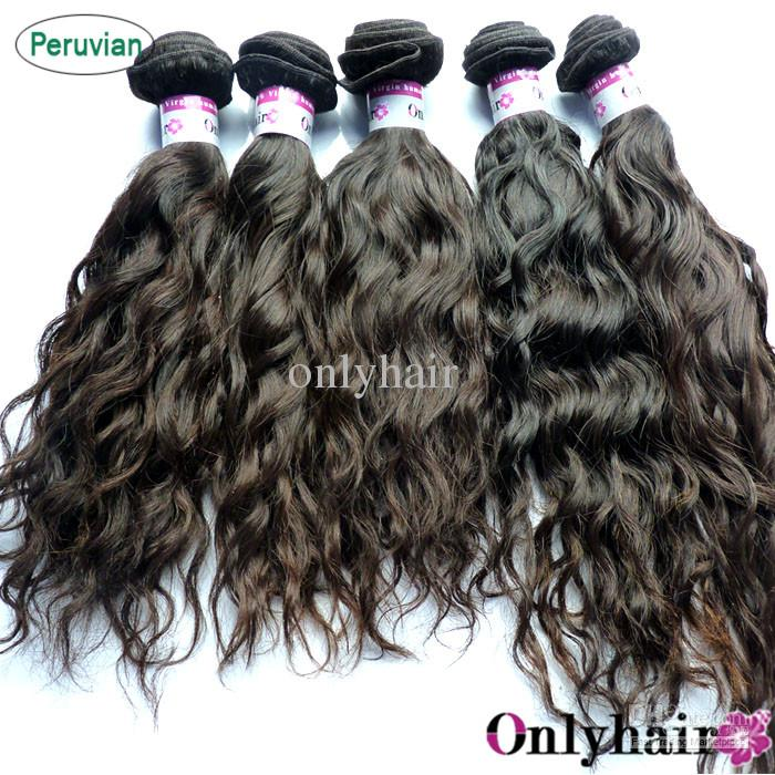 Free Shipping Spiral Wave Water Wave Virgin Hair Extensions, Full