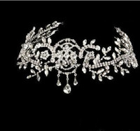 Wholesale Bridal Hair Accessories Plastic Crown Wedding Crown Tiara Hair Ornaments Party tiara For Bridal Party Prom Dress