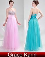 evening sequins beaded dresses - New Arrival Sexy Beaded Sequins Sweetheart Party Gown Prom Ball Evening Dresses Pink Dark Turquoise CL4011
