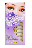 Wholesale 10 Pairs long black Natural False Eyelashes Hand Made MakeUp Cosmetic H2006A
