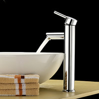 Cheap brass chrome bathroom sink Faucet Mixer Tap hot and cold basin faucet