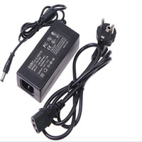 Wholesale Led strip Power adapter charger V Hz V A Power Supply Adapter Balancer Charger EU AC Power Cable for rgb strip