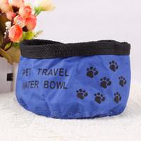 Wholesale Pet travel water bowl practical exquisite durable