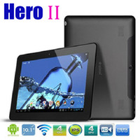 Wholesale Ainol Novo Hero Quad Core Inch IPS WIFI Bluetooth Android GB GB Dual Camera HDMI External G Point Touch Screen Tablet PC
