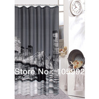 Wholesale Brooklyn Bridge New York City Nightsight Shower curtain X180cm