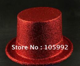 Wholesale Carnival Hat Powder Hat Magician Performances Hat mix color