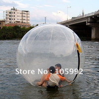 Wholesale walking Zorb inches Transparent mm Thick PVC water park game