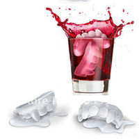 Wholesale New Arrival Coolest Silicone Ice Tooth Shaped Ice Case High Quality red black
