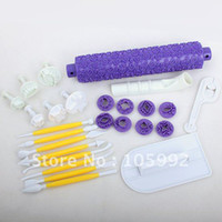 Wholesale sets cake fondant MODELLING TOOLS cake sugarcraft tools decorating cake tools