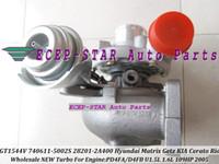 accent crdi - GT1544V S A120 Turbo Turbocharger For HYUNDAI Matrix Getz For KIA Cerato Rio Pdride L CRDi D4FA D4FB L
