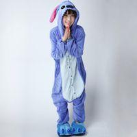 Wholesale Unisex Kigurumi Pajamas Adult Anime Cosplay Costume Onesie Dress rabbitS M L XL BCozy