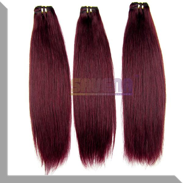Dark Red Wine Hair Extensions Prices Of Remy Hair