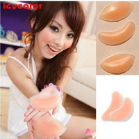 Wholesale Silicone Bra Push Up Invisiable Inserts Breast Enhancers Pads Push Up Inwards by DHL pairs