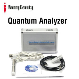 Wholesale Quantum Resonance Magnetic Analyzer Reports Completely Spanish English French Version Epacket Free to USA