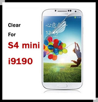 For Samsung Front Yes DHL Fedex shipping 2000 Clear film screen protector guard For Samsung Galaxy S4 Mini i9190