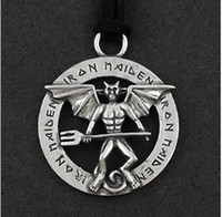 Wholesale Sample order The devil pendant Gothic series peripheral accessories Iron Maiden men s jewelry