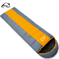Wholesale Wind tour thermal sleeping bag autumn and winter envelope hooded outdoor camping sleeping bag adult