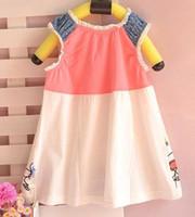 TuTu Summer A-Line Children's clothing infant clothing girls dress skirt sleeveless vest skirt summer paragraph 058